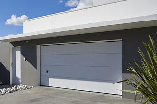 Porte de garage sectionnelle latérale ou verticale